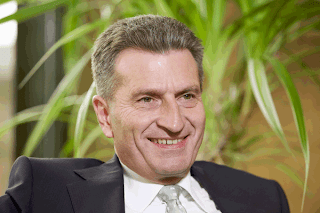 Energy Commissioner Günther Oettinger