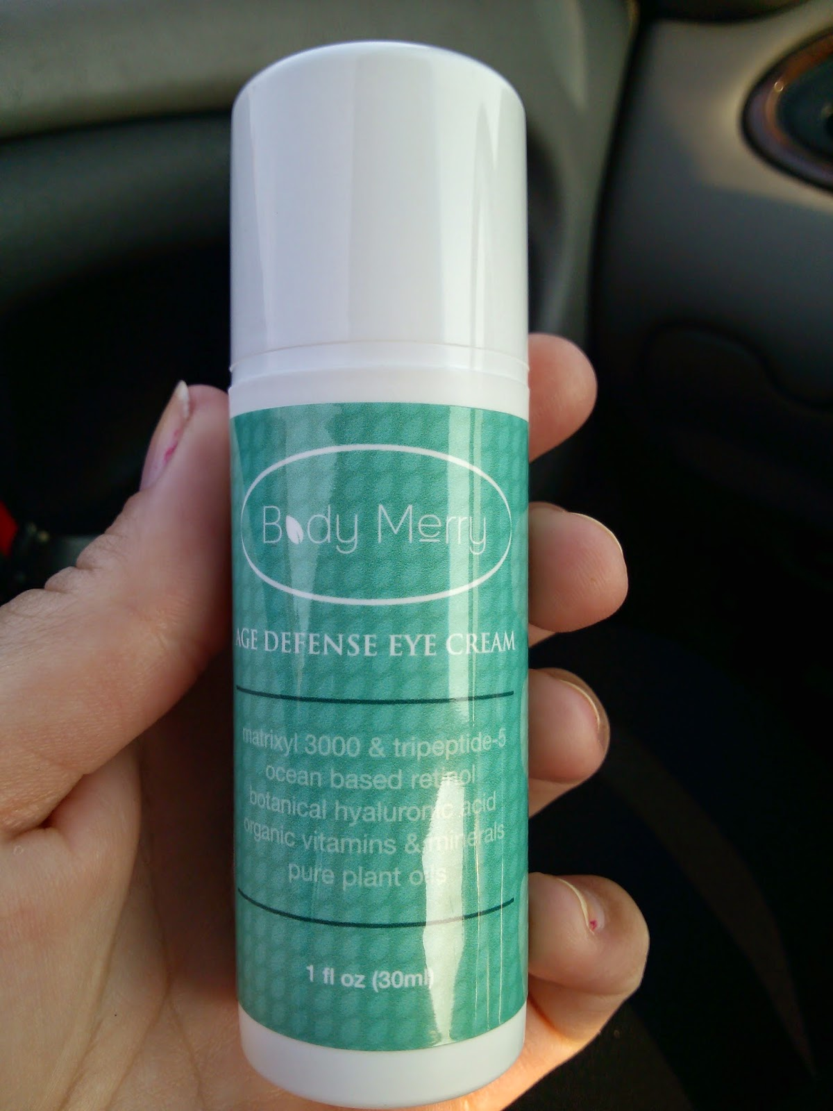 Body Merry Age Defense Eye Cream Review