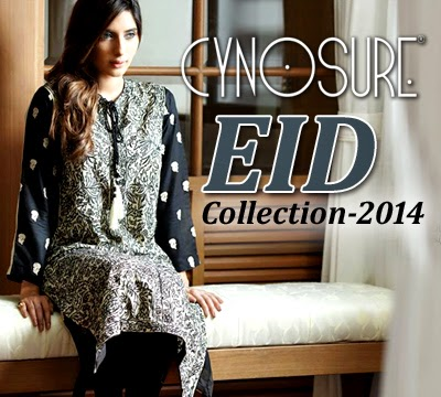 Elegance Eid Collection 2014 Cynosure Eid Collection 2014