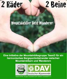 Mountainbiker lieben Wanderer