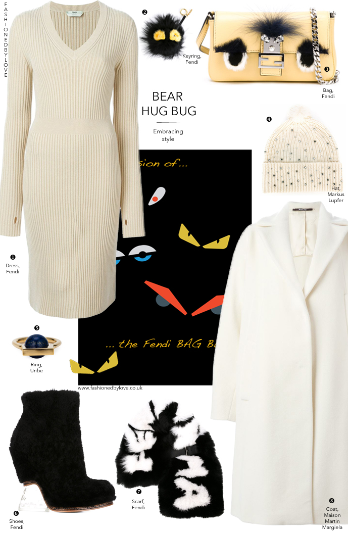 Three looks featuring Fendi Bugs and Monsters for a daywear outfit, culotte trend & weekend look. Via www.fashionedbylove.co.uk british fashion & style blog