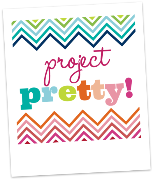 Project Pretty: DIY Fabric Boxes & a Link Party!