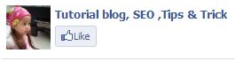 cara memasang facebook like di blog