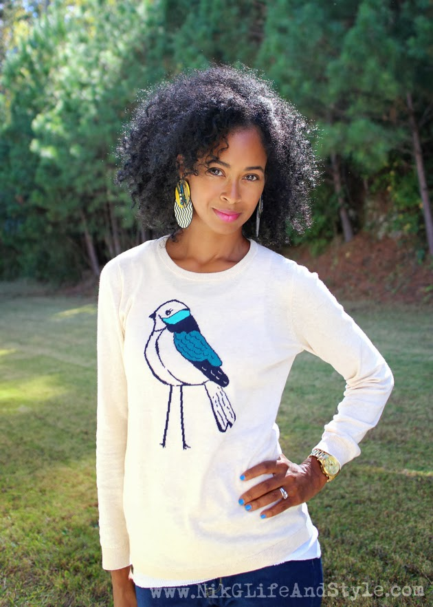 Old Navy Bird Sweater