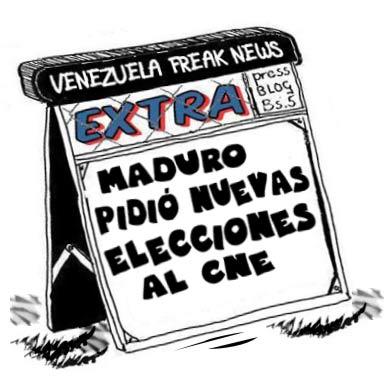 Newsstand cómic: elecciones Venezuela 2013
