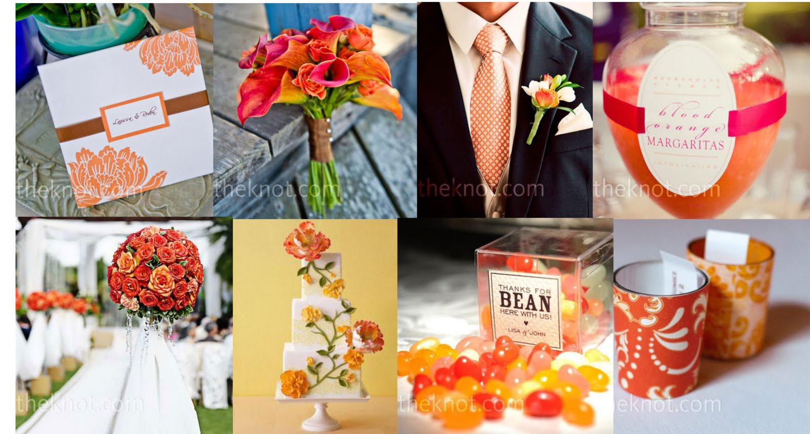 POUR LE CHOUCHOU: (SUMMER WEDDING COLORS)