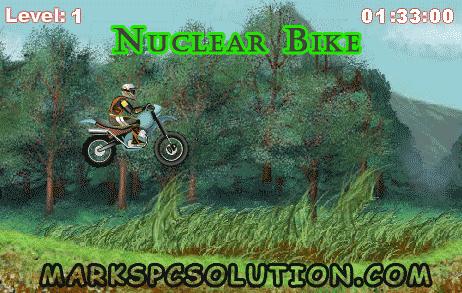 Motorbike Game Nuclear Bike