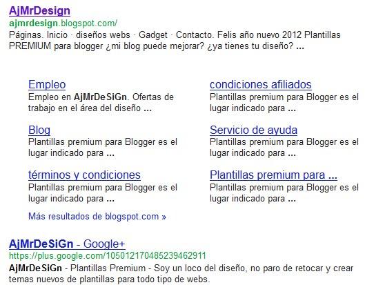 Meta descripción para blogger