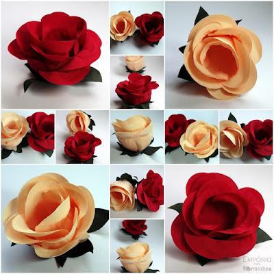 Comprar Forminhas para doces finos em formato de rosas