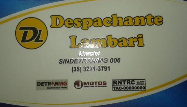 DESPACHANTE LAMBARI, ELEITO DESTAQUE DO ANO 2017.