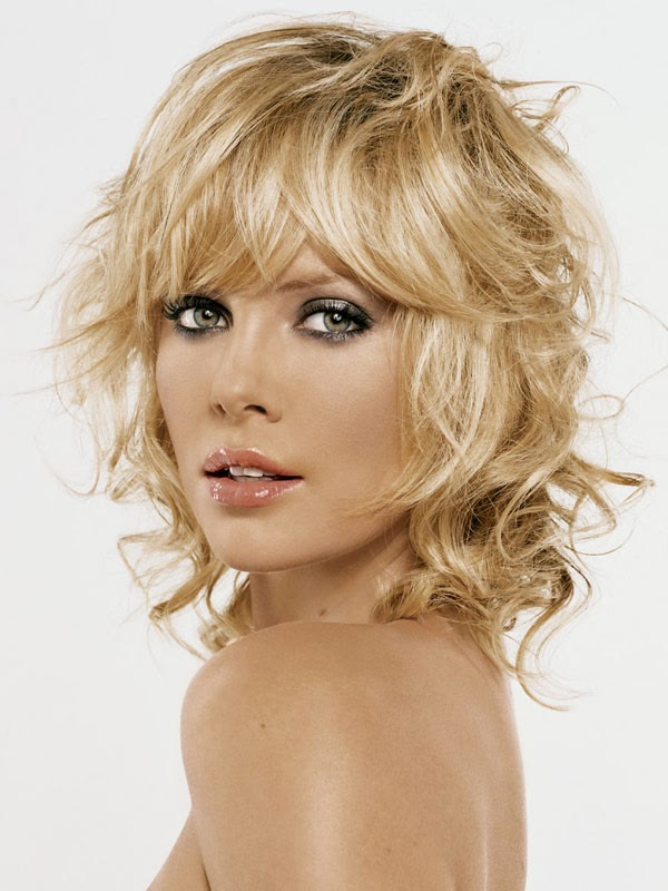 Curly Hairstyles For Short Hair With Bangs
