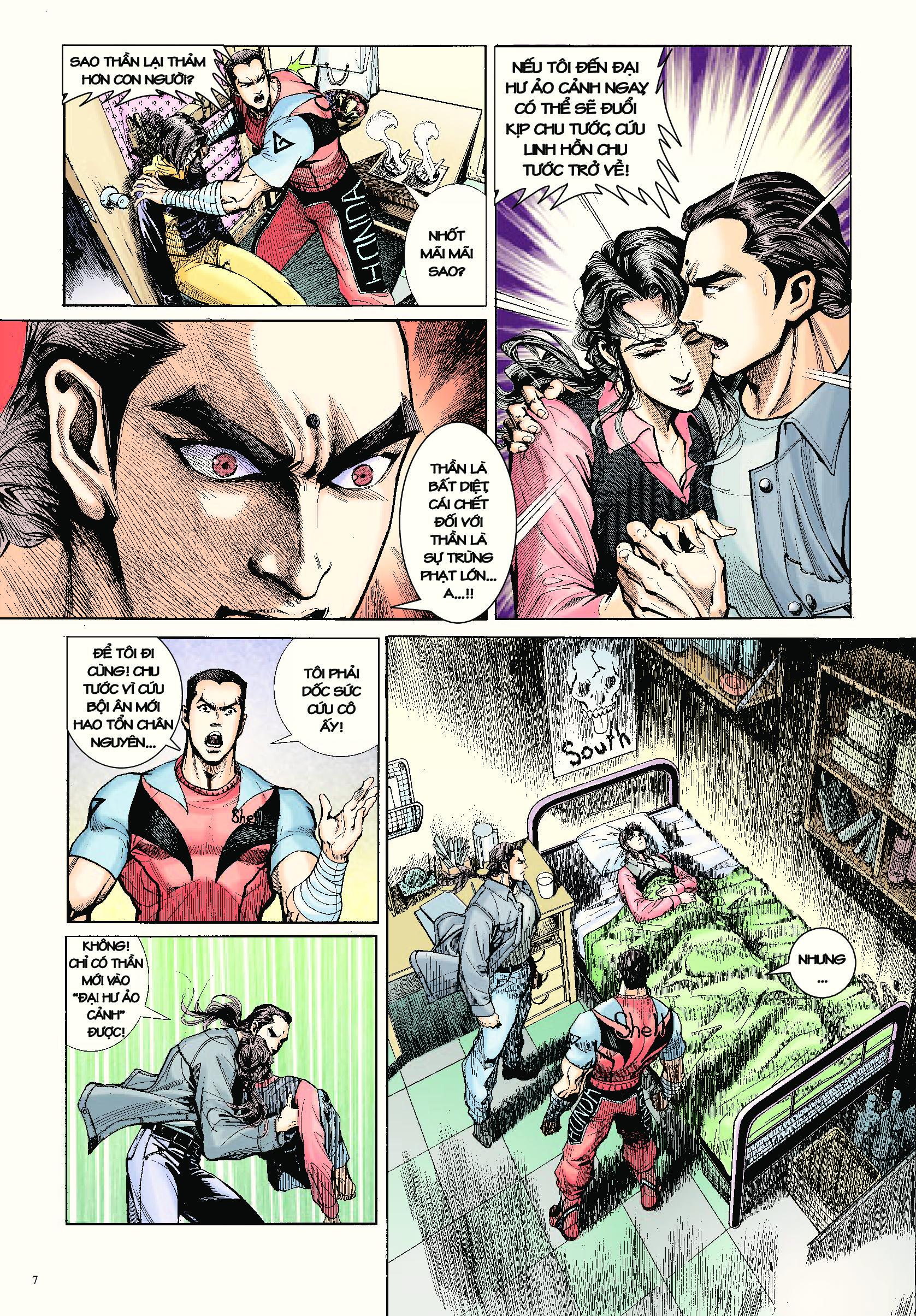 Long Thần - Trung Bộ Khúc Chap 19 - Next Chap 20