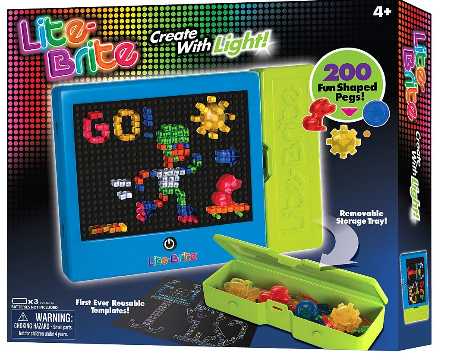 photograph about Printable Lite Brite Templates identified as The Playful Otter: Lite-Brite Magic Display