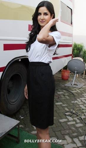 Katrina kaif black pencil skirt - (4) -  Katrina kaif photos