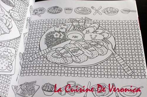 美味時光 Coloring and the Food