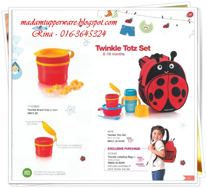 Katalog Tupperware April 2013 - Growing With You
