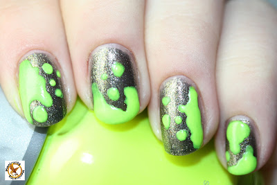 OPI Number One Nemesis with Orly Glowstick