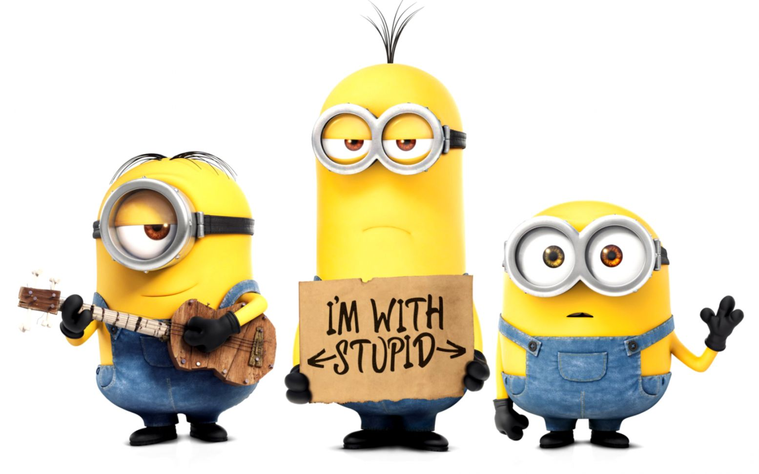 What are the names of despicable me minions