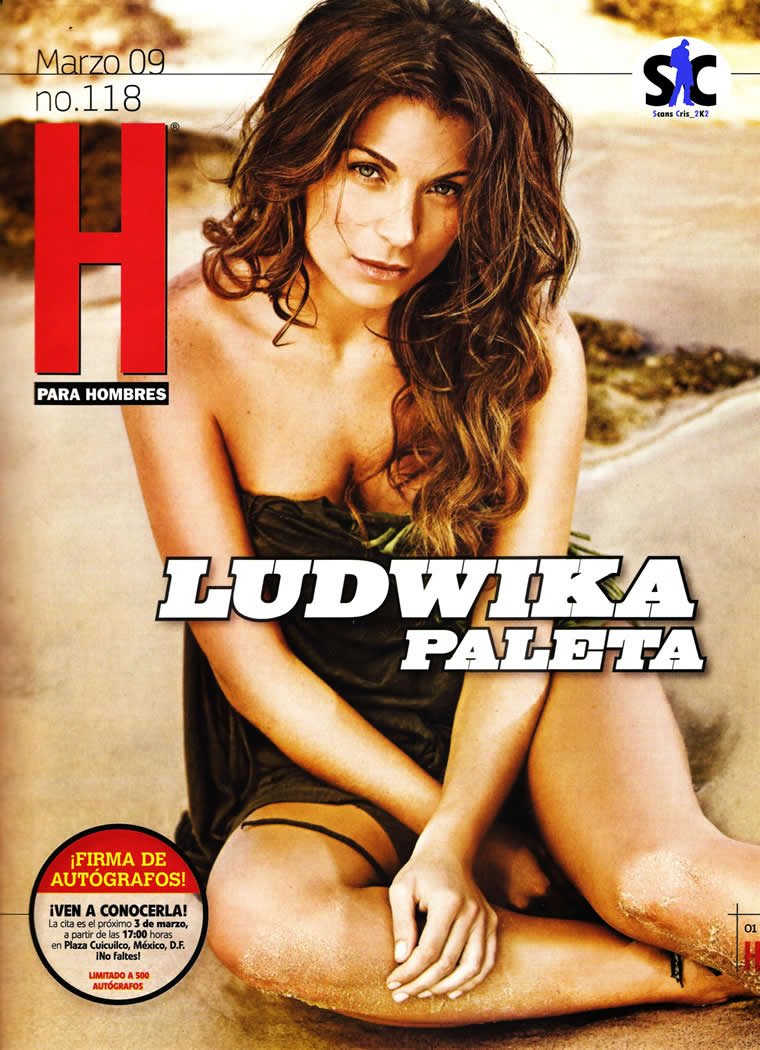 fotos de ludwika paleta revista h para hombres