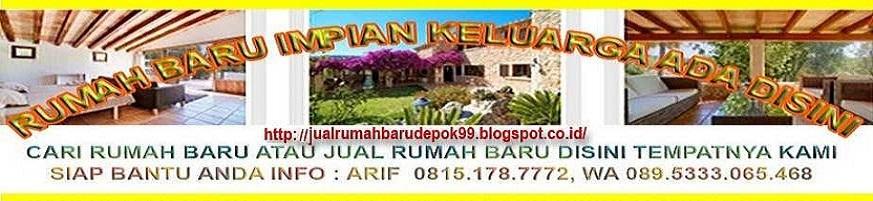 Jual Rumah Murah Di Depok,Pamulang Tangsel, Bintaro, Ciputat