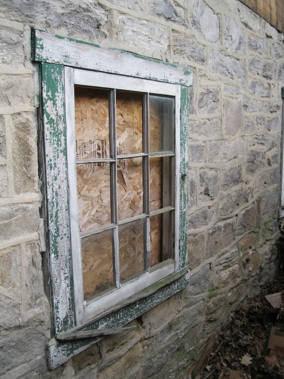 L norris hall house garage glass block for Garage block