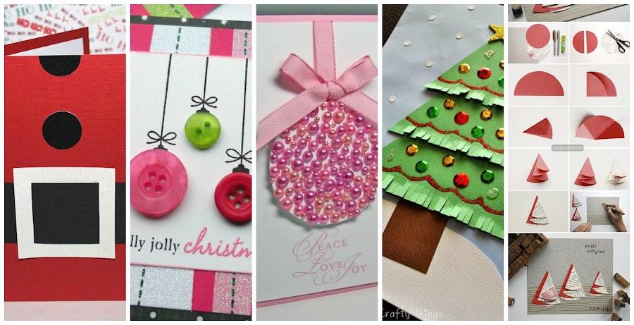 Tarjetas originales de navidad - Tarjeta navidad manualidades ...