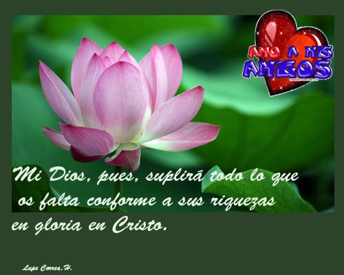 MENSAJE DE ALIENTO ~ Gráficas Cristianas