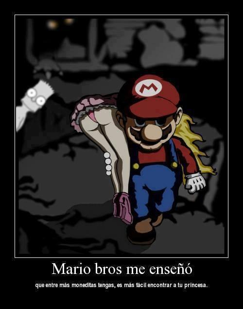 Lo que Mario Bros me enseñó