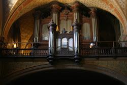 L'orgue de l'église Ste Eulalie