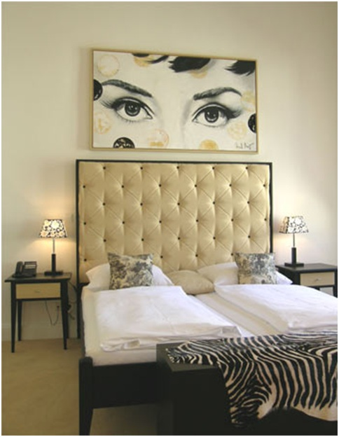 Zebra decoration ideas for bedrooms