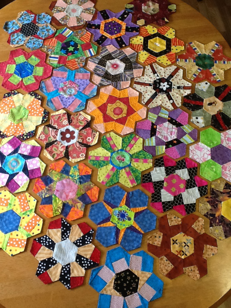image Pieced Hexies: Guest Post and Two Giveaways!