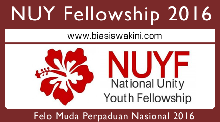 National Unity Youth Fellowship 2016 - Felo Muda Perpaduan Nasional