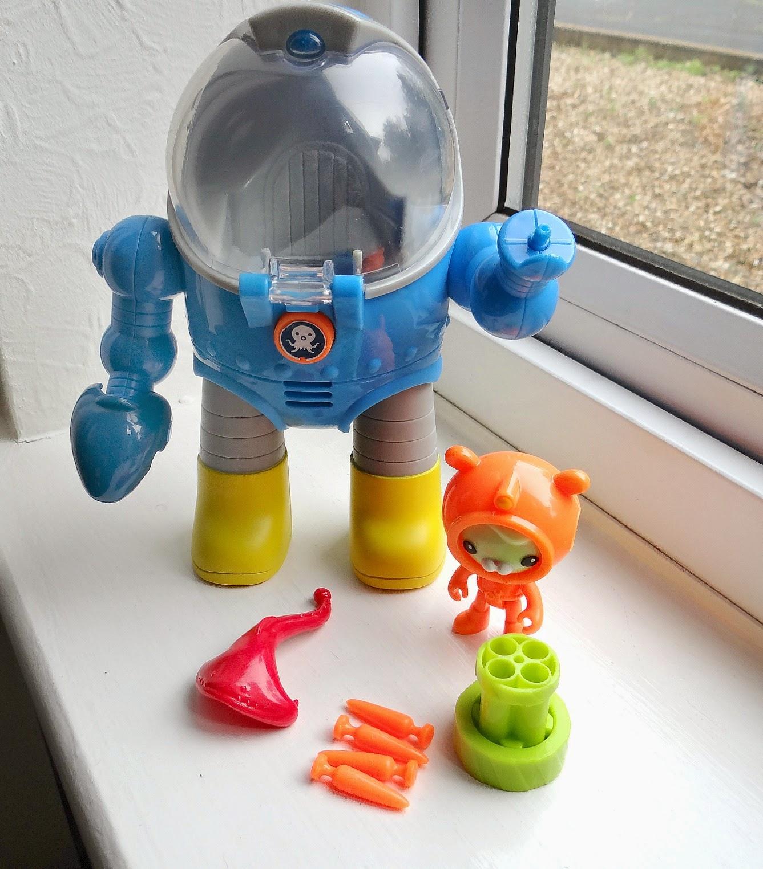Octonauts toys, 2014 Octonauts, Octonauts Tweak's Octo Max Suit