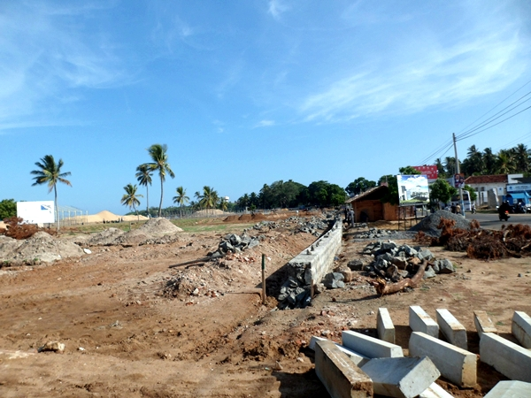 Beach development for South Asian Beach Games 2011 at Hambantota