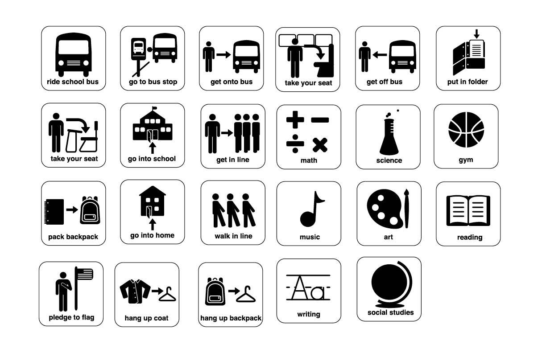 School symbol set caseys senior project school symbol set buycottarizona Image collections