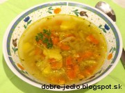 Zemiakovo-mrkvová polievka - recept