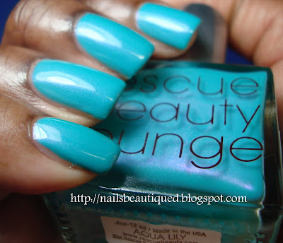 Rescue Beauty Lounge Aqua Lilly