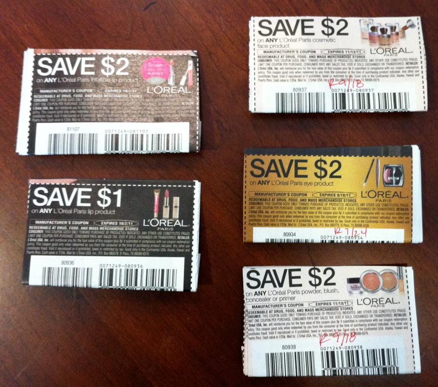 Loreal makeup coupons uk