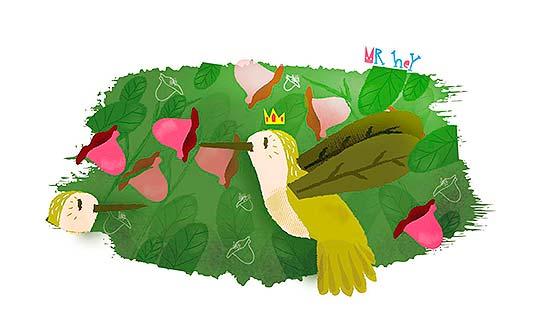 Ilustración de Luis Toloza Guerrero