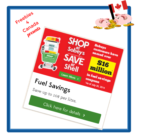 Canadian Freebies- Free Shell Gas from Sobeys