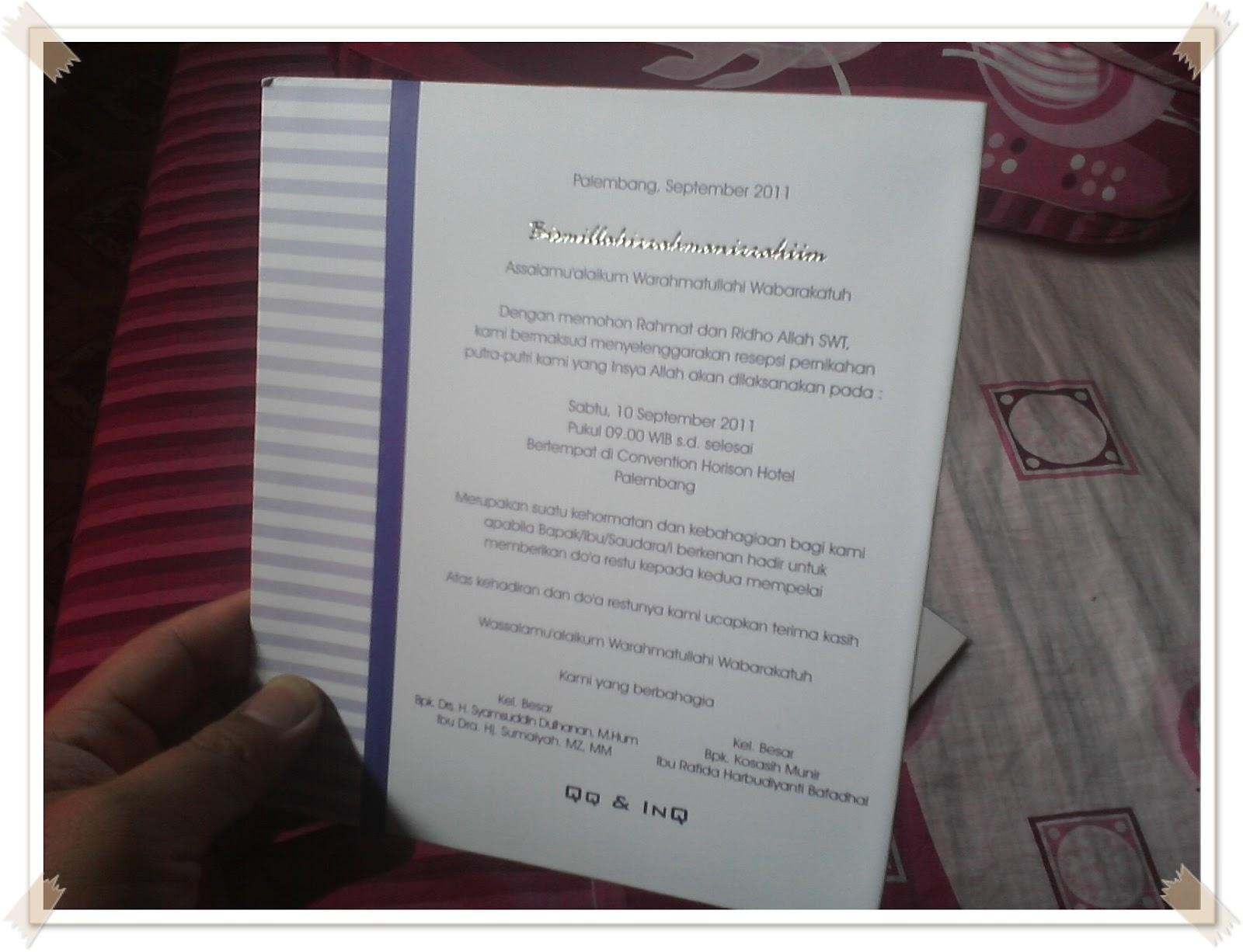 Buat KK desain undangan yang KK buat itu lohh..unyu unyu..