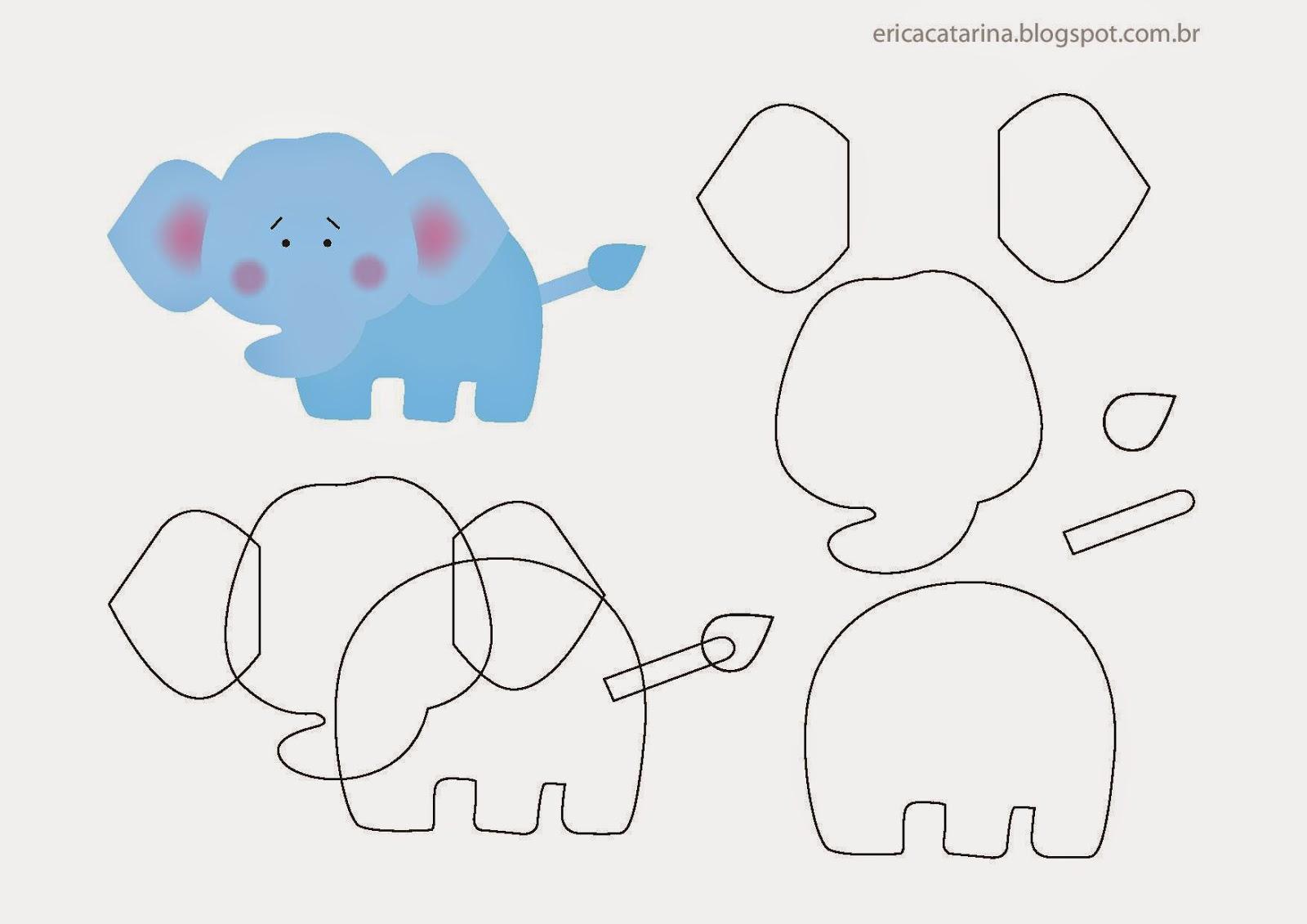 Аппликации животные из бумаги схемы