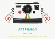 On my agenda: Art Fusion!