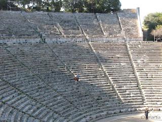 Nauplie - Epidaure