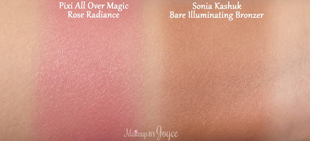 Pixi All Over Magic Rose Radiance Swatch