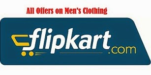 Offers on Men's Clothing @ Flipkart: Flat 37% Off | Free Laptop Bags on UCB Clothing | Flat Rs.1000 Off on Wills Lifestyle | Rs.750 Off on Scullers Clothing | Rs.1000 Off on Celio Clothing & more