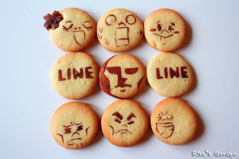 line cookies♪