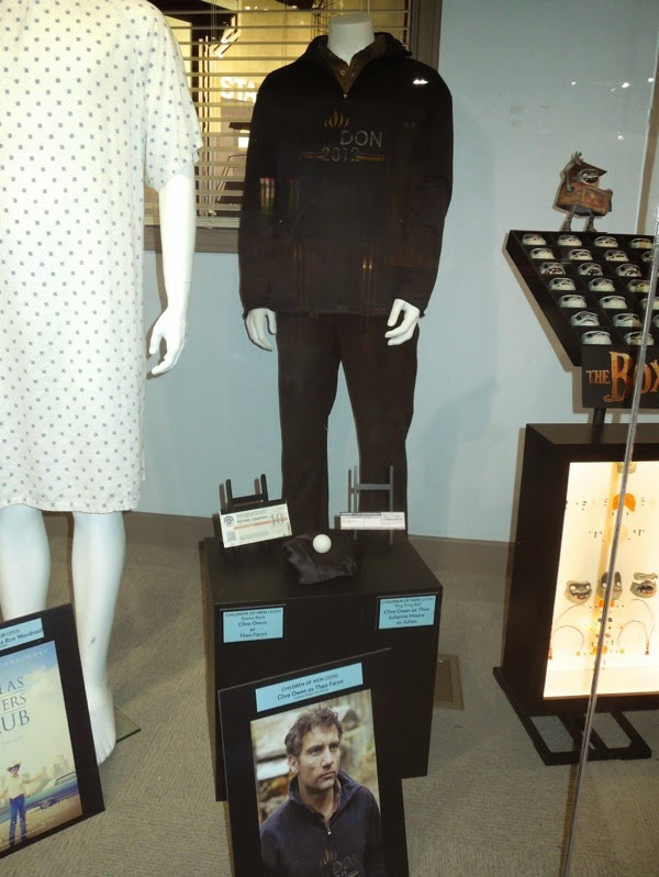 Original Children of Men movie costume props
