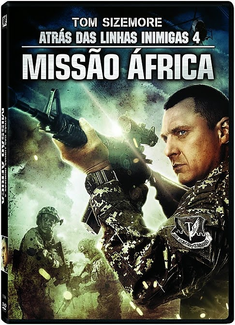 Download - Atrás das Linhas Inimigas 4 - Missão África - Dual Áudio (2014)