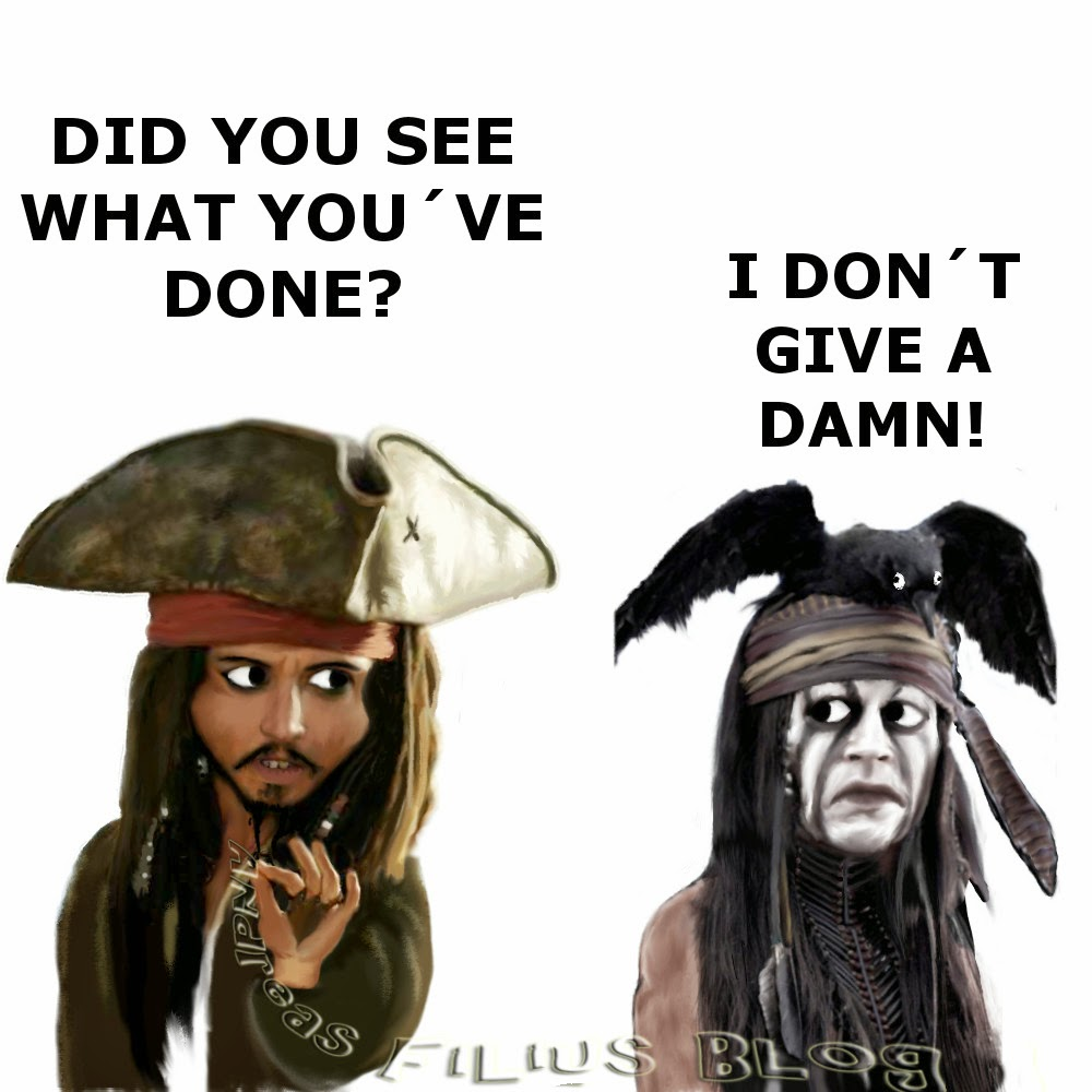 Lone Ranger vs. Pirates of the Caribbean